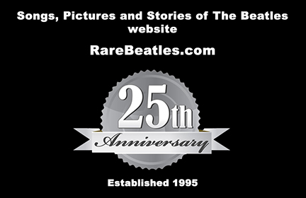 RareBeatles.com 25th Anniversary