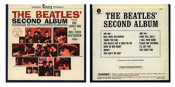 reel to reel beatles albums